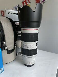 Canon EF 70-200mm f/2.8L IS III USM Camera Lens with Warranty