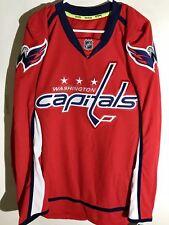 Reebok Authentic NHL Jersey Washington Capitals Team Red sz 56