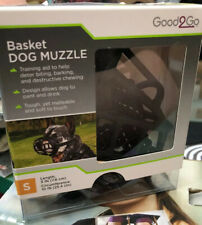New listing Basket Dog Muzzle Allows Your Dog to Drink While Wearing (Good2go S)y