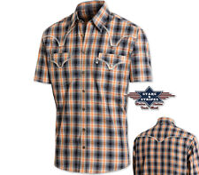 Camisas country western ref: JUSTIN SHORTS Stars & Stripes PROMO