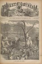 900 issues FOREST AND STREAM MAGAZINES DVD fishing hunting camping gun 1873-1895