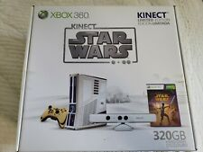 Microsoft Xbox 360 Kinect Star Wars Limited Edition 320GB Matte White Console...