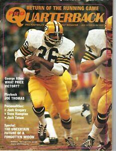 1973 Quarterback Football magazine MacArthur Lane Green Bay Packers POOR