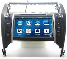 "8"" In Dash Car Stereo Radio CD DVD Player GPS Navigation For Toyota Camry New"