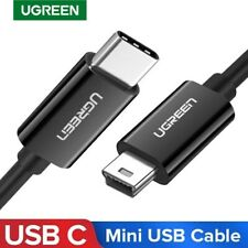 Ugreen USB Type C to Mini USB Cable Mini 5 Pin Charging Cord for Camera PS3 MP3