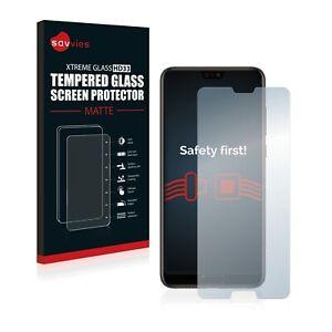Savvies Verre Trempé Mat pour Huawei P20 Vitre Protection Écran Anti Reflet