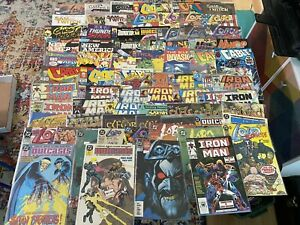 Collection 76 Comic Books Lobo, Iron Man, Cable, Outcasts, Elflord, Sam & Twitch