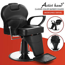 All Purpose Hydraulic Recline Barber Chair Salon Beauty Spa Heavy Duty Equipment