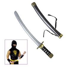 Ninja Messer Karneval Fasching Samurai Shogun Schwert Waffe Kostüm Zubehör 2726