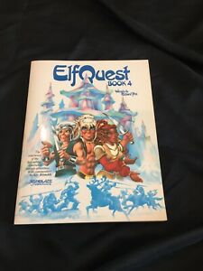 ELFQUEST Fully Colorized Book 4 STARBLAZE 1984 1ST PRINT RARE