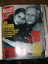 Paris Match N° 1607 14/3/1980 Sakharov Charlotte Rampling Jean michel Jarre