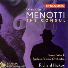 Menotti: The Consul / Hickox, Bullock, Otey, Livengood, Spoleto Festival - CD
