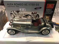 CMC M-142 Alfa Romeo 6C 1750 GS Clear Finish 1/18 LIMITED