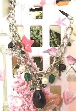 Women Crystal Bedels necklace new