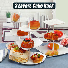 3 Tiers layers Cake Cupcake Plate Stand Birthday Wedding Party Food Holde