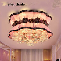 NEW Modern LED Crystal shade Ceiling Light restaurant Bedroom Lobby Pendant Lamp