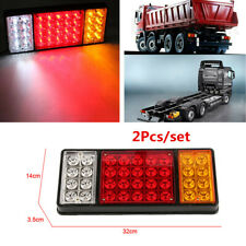 2Pcs Car Truck 12V 36 LED Tail Light 3 Colors Indicator Rear Lamp Accessories