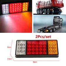 2Pcs Car Truck 12V 36 LED Tail Light 3 Colors Indicator Rear Lamp Accessories