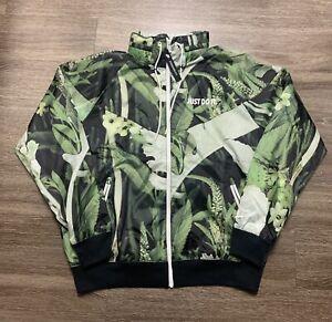 Nike Sportswear Men's JDI Windrunner Woven Floral Jacket CK8075-083 Size Medium