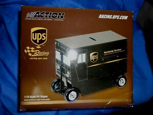 ACTION  #88 DALE JARRETT 2003 PIT WAGON BANK LTD ED 1/16 SCALE UPS