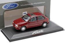 Ford Fiesta Baujahr 1996 dunkelrot 1:43 Minichamps