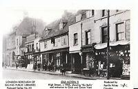 London Postcard - Old Acton 11 - High Street c1905 - Showing 'Six Bells'  U80