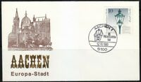 Germany 1980 cover SST Sonderstempel Aachen Philatelisten Tag