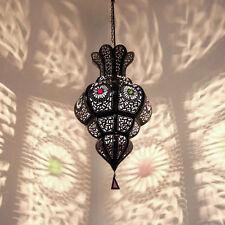 Arabische Lampe Hängelaterne Marokkanische Hängelampe Pendelleuchte AMARA H50cm