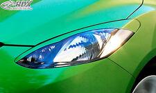 RDX Scheinwerferblenden MAZDA 2 2007-2011 Böser Blick Blenden Spoiler Tuning