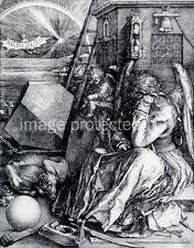 Albrecht Durer Art 11x17 Print  Melencolia I