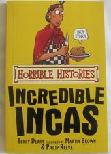 Horrible Histories, The Incredible Incas by Terry Deary (Paperback, 2008)