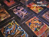 Pokemon Card Lot 50 OFFICIAL TCG Cards - 2 Ultra Rare Included EX MEGA GX V etc.