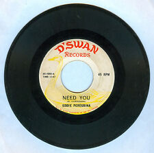 Philippines EDDIE PEREGRINA Need You OPM 45 rpm Record