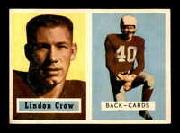 1957 Topps #91 Lindon Crow DP EXMT/EXMT+ X1463705