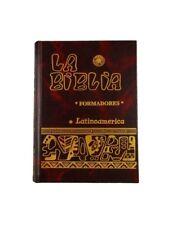 La Biblia Latinoamerica FORMADORES Pasta Dura ROJA- Latinoamericana Catolica
