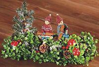 wunderschönes Tischgesteck mit Winterkinder 30cm, neu