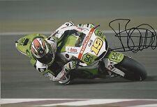 Alvaro Bautista Hand Signed GO&FUN Honda Gresini 12x8 Photo MOTOGP 13.
