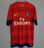 PSG PARIS SAINT GERMAIN FRANCE 2012/2013 AWAY FOOTBALL SHIRT MAGLIA NIKE SIZE L