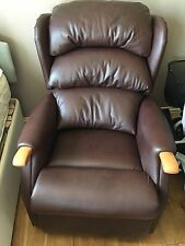HSL Leather Electric Chair and Two Seater Settee