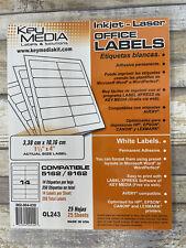Inkjet Laser Office Labels 1 13 X 4 Size