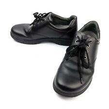 Dansko Mens Walker Black Smooth Leather Oxford Shoes Size EU 46 US 12.5-13