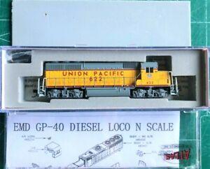 Union Pacific, N ATLAS 53902 GP-40 Locomotive UP Union Pacific #622 DCC Ready