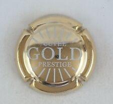 capsule champagne MIGNON pierre n°64a prestige Gold dorée a l'or fin blanche