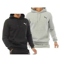 Mens Puma Regular Fit Brushback Fleece Overhead Hoodie Sizes from S to XXL