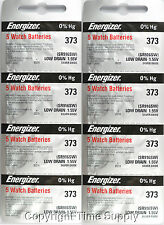 40 pcs 373 Energizer Watch Batteries SR916SW SR916 0% Hg