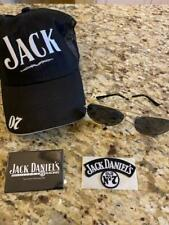 NEW JACK DANIELS 07 RACING HAT GLASSES PATCH PIN HONEY SUNGLASSES CAP LOT BOTTLE