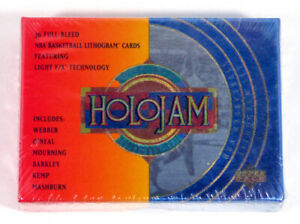 1993-94 Upper Deck Holojam Lithogram Basketball Factory Set (36 Cards) Jordan