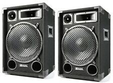 """COPPIA CASSE ACUSTICHE PASSIVE 1400W FULL-RANGE 12"""" (31 cm) no amplificate NUOVE"""