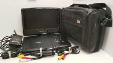 Insignia Portable DVD Player with Travel Bag and Accessories