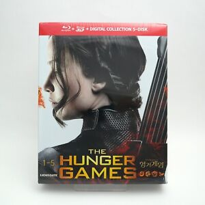 The Hunger Games Collection .Blu-ray Box Set  / 1~4 Complete